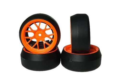 Spec D CS Wheel Offset +3 Orange (YAWL0079)